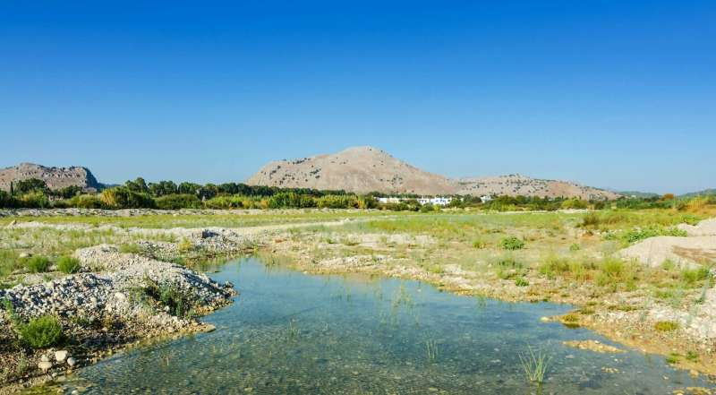 Mediterranean freshwater fish species susceptible to climate change