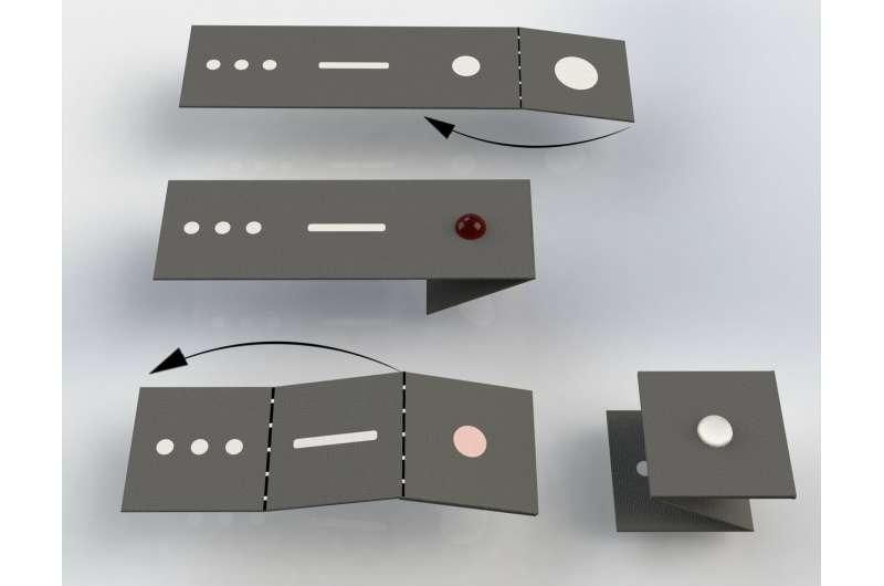 'Origami' diagnostic device offers affordable malaria diagnoses