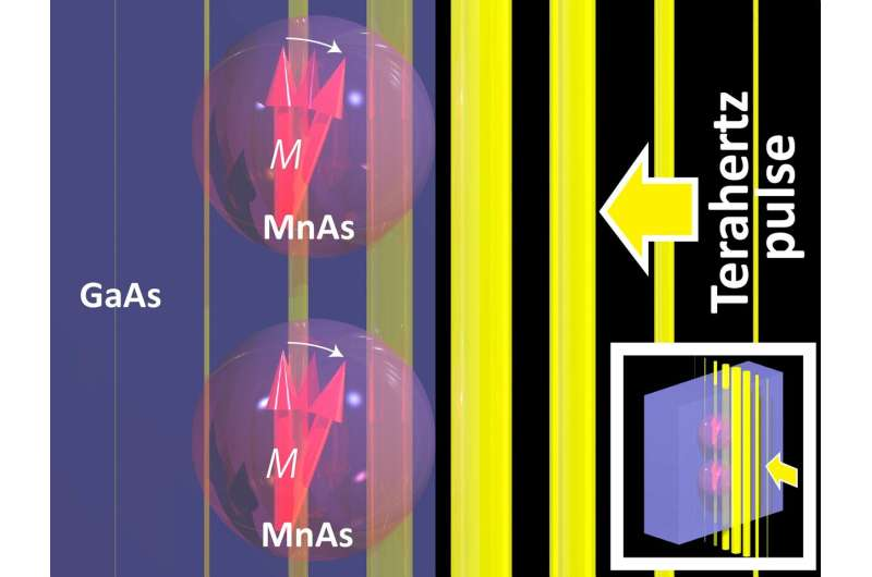 Nanoparticles help realize 'spintronic' devices - Researchers demonstrate nanoparticle systems crucial for new high-speed device