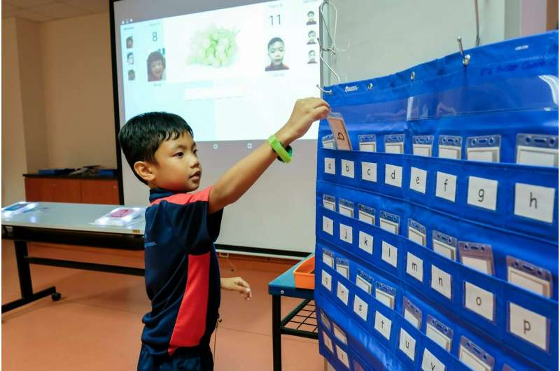 New interactive technology to help children with special needs learn better