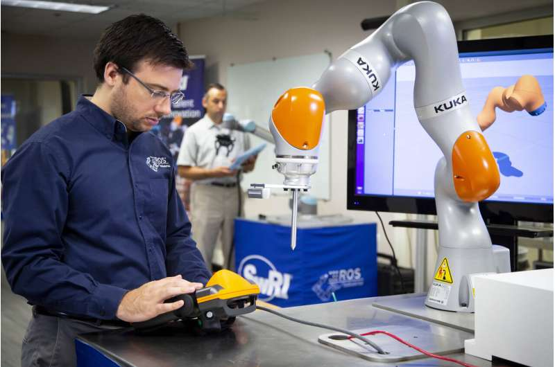 Team develops robotic machine vision solution for shiny objects