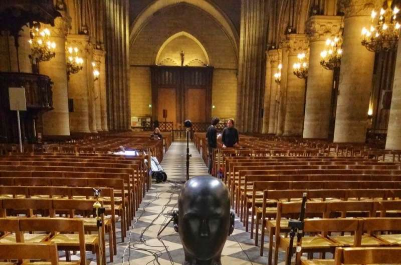 Reconstructing the acoustics of Notre Dame