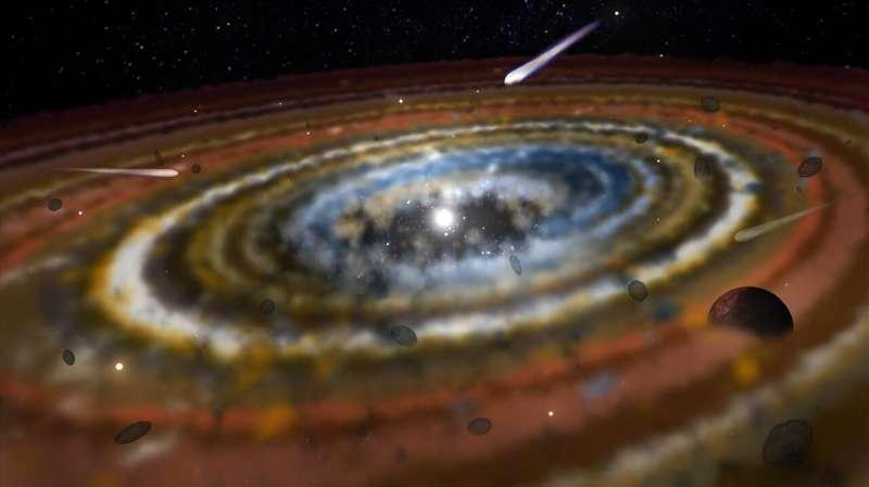 Three exocomets discovered around the star Beta Pictoris