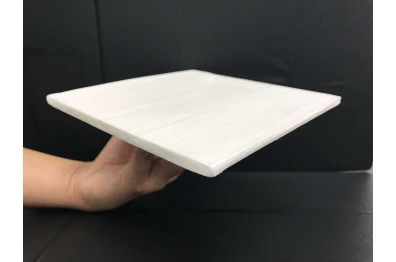 Cooling wood: Engineers create strong, sustainable solution for passive cooling