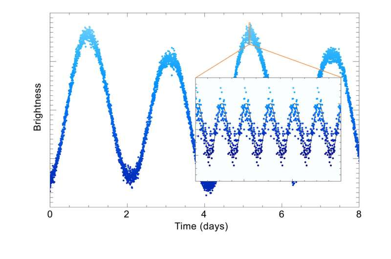 TESS first light on stellar physics