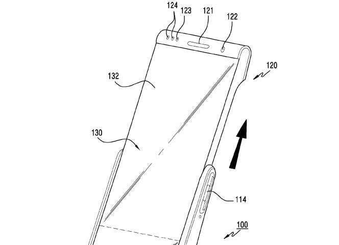 Samsung patent talk reveals smartphone designs on rollable