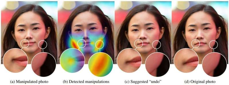 Researchers have success in detecting if images of faces were manipulated