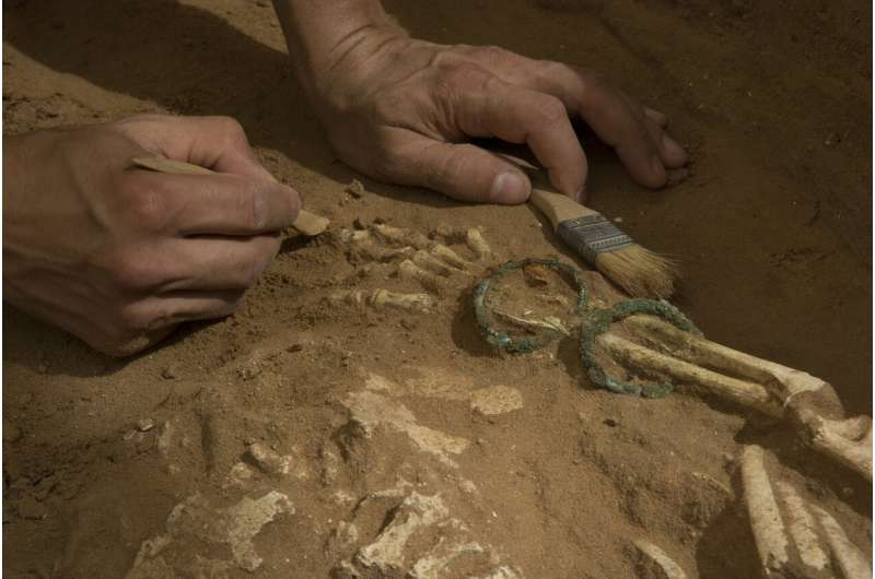 Ancient DNA sheds light on the origins of the Biblical Philistines