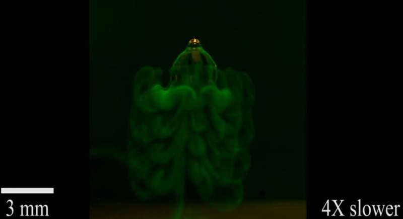 A tiny soft robot that mimics jellyfish