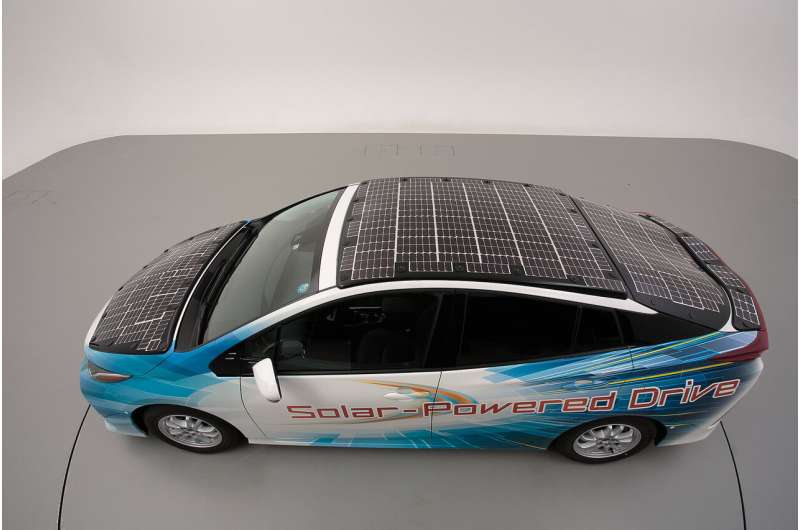 Toyota to test solar panels for electric cars