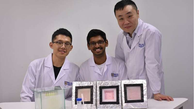 Researchers apply novel hydrogel to harvest water from humid air above sea surfaces