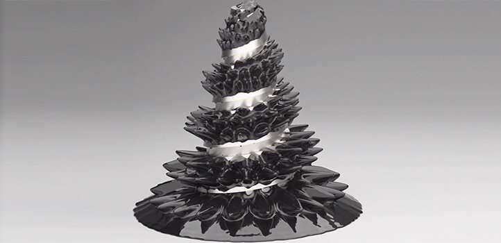 Researchers develop computer model of ferrofluid motion