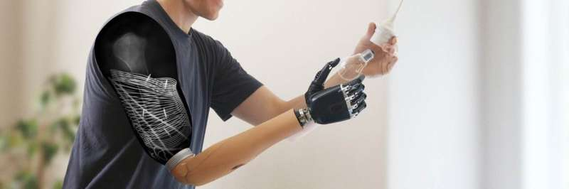Researchers implant sensors for wireless control of muscle signal transmission following nerve transfers