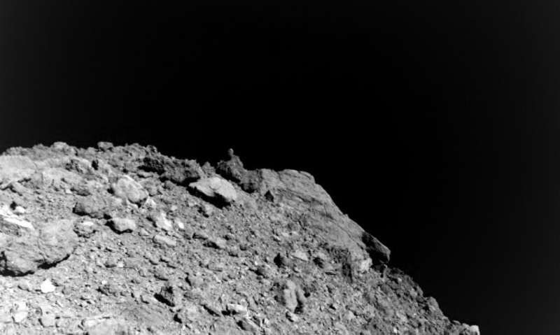 New images from asteroid probe offer clues on planet formation