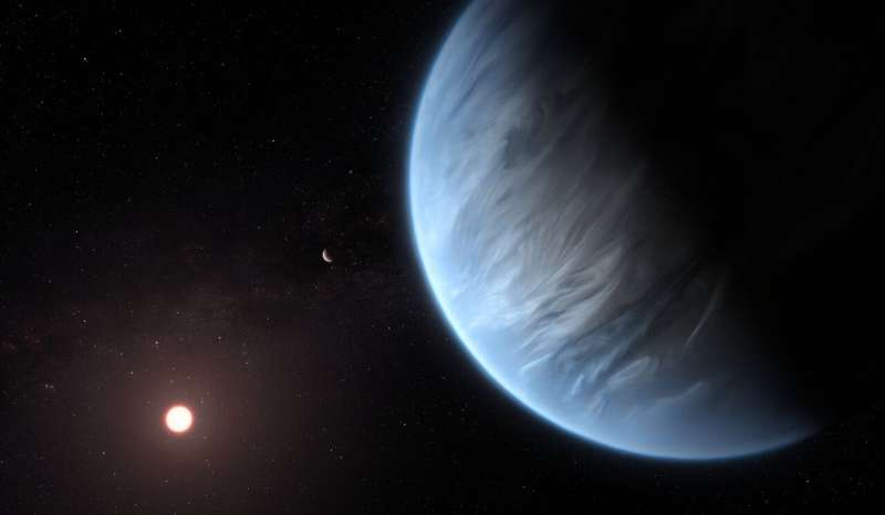 First water detected on potentially 'habitable' planet