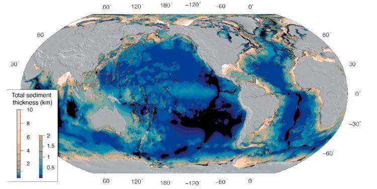 New map of the seabed reveal more deposits than expected