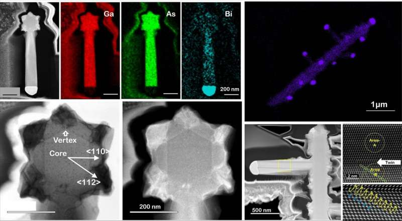 Paving a way to achieve unexplored semiconductor nanostructures