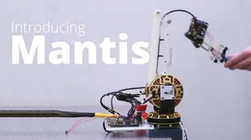 New haptic arm places robotics within easy reach