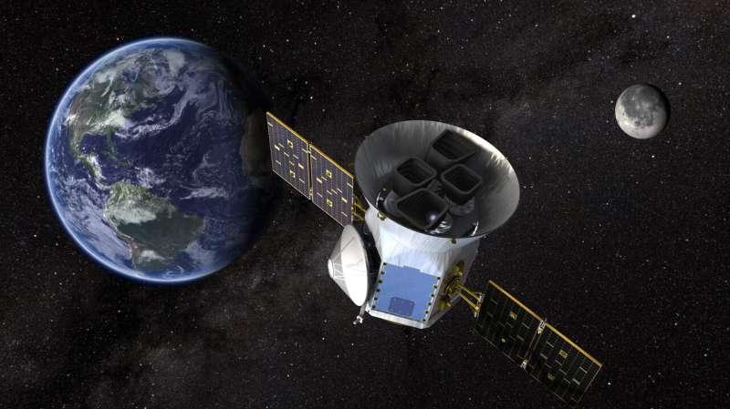 TESS reveals an improbable planet