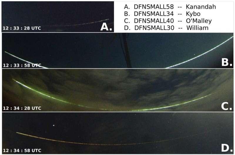 2017 meteor was a 'grazing fireball'