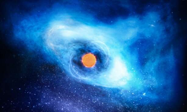 Astrophysicists link brightening of pulsar wind nebula to pulsar spin-down rate transition