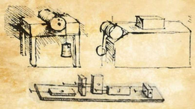 Leonardo da Vinci's early work on friction founded the modern science of tribology