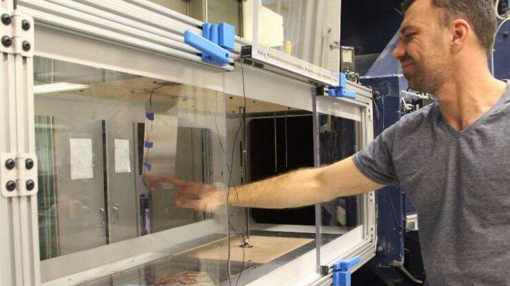 Researcher sees potential in generating energy from vibrations