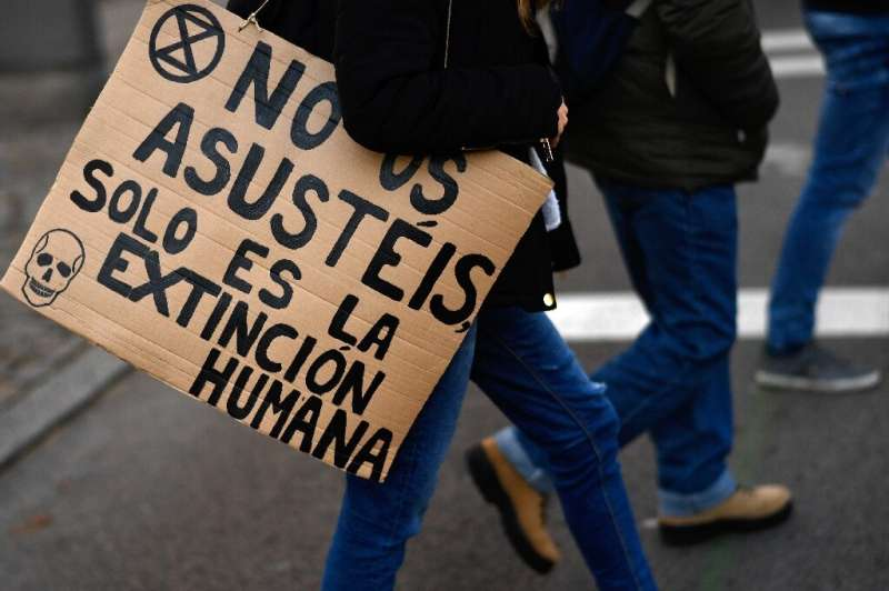 Tens of thousands marched in the Spanish capital Madrid to demand climate action at the UN talks