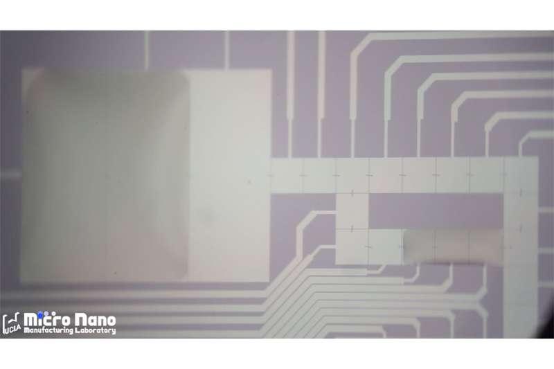 Researchers flip how electrical signals move liquid droplets