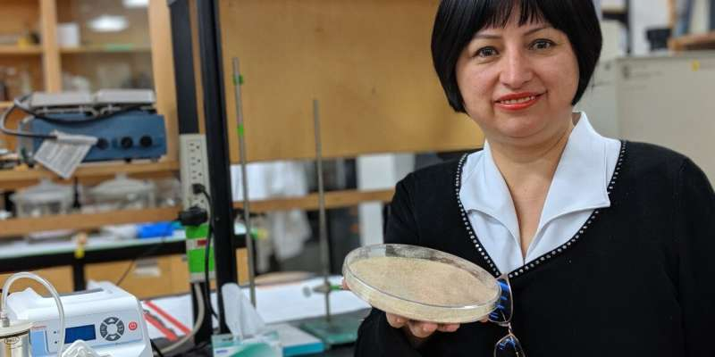 Researcher uses canola to create biodegradable cling wrap