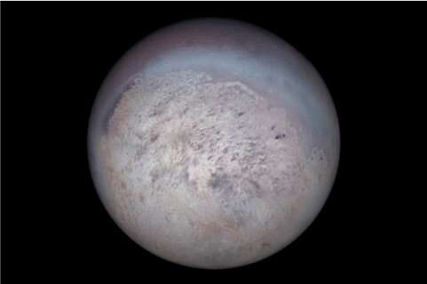 """""""Unprecedented"""" discovery of unique infrared light signature on Neptune's moon Triton"""