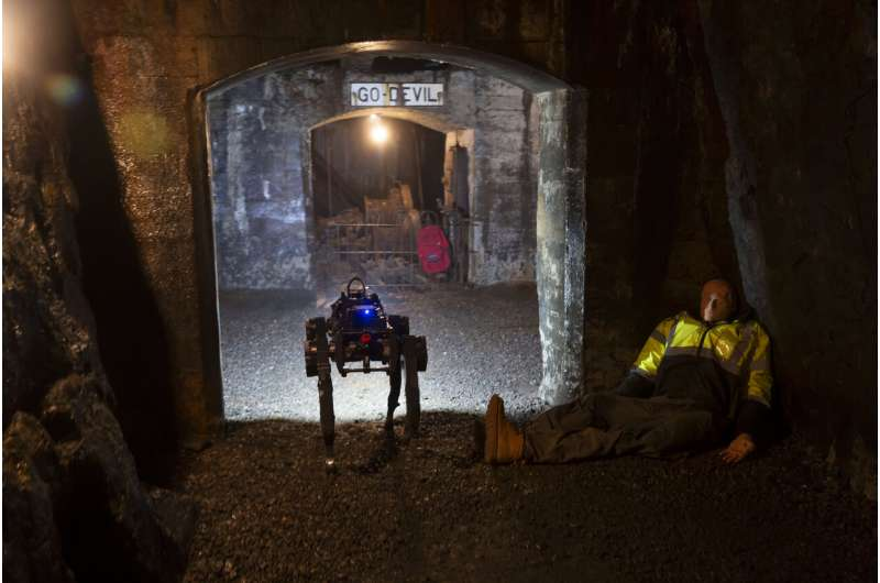 Researchers create a fleet of robots to navigate unknown underground environments