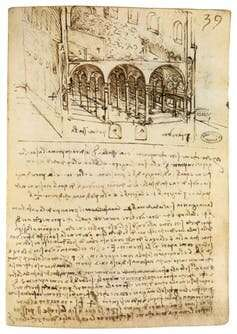 Leonardo da Vinci designed an ideal city that was centuries ahead of its time