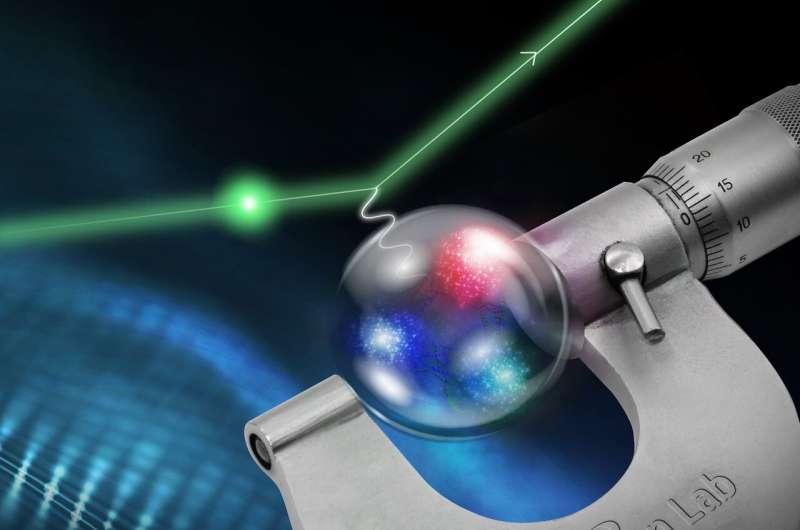 New measurement yields smaller proton radius