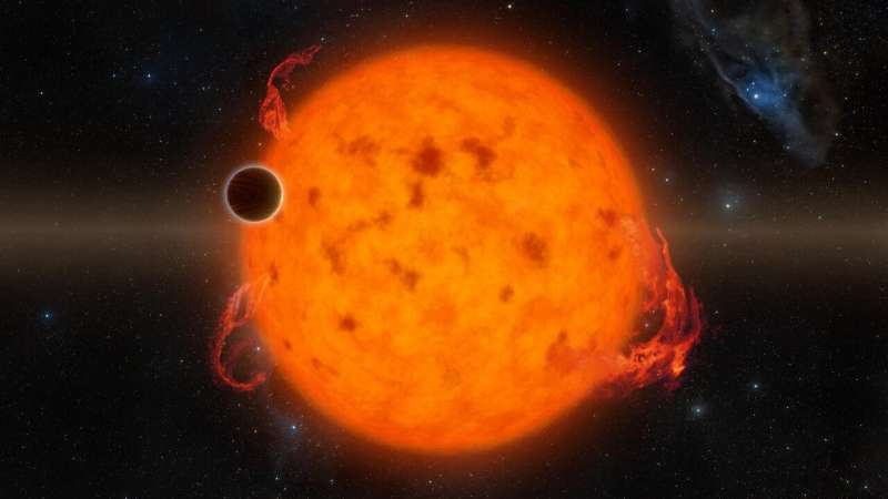 NYU Abu Dhabi researcher discovers exoplanets can be made less habitable by stars' flares