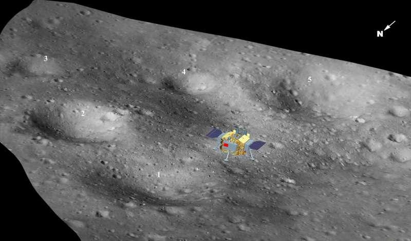 Reconstructing the first successful lunar farside landing
