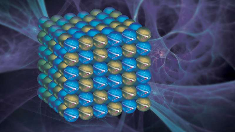 Researchers discover surprising quantum effect in hard disk drive material