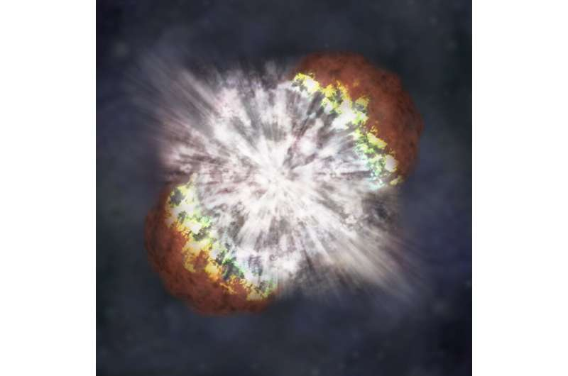 Researchers wonder if ancient supernovae prompted human ancestors to walk upright