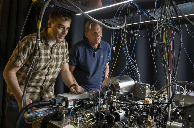 A different kind of gravitational wave detector