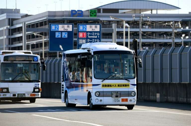 A driverless bus was recently tested at Tokyo's Haneda Airport and some driverless taxi services aim to be fully functional in t