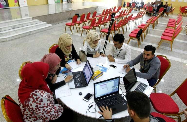 After graduating from university, many Iraqi youths spend years waiting to be appointed to a job in the government, Iraq's bigge