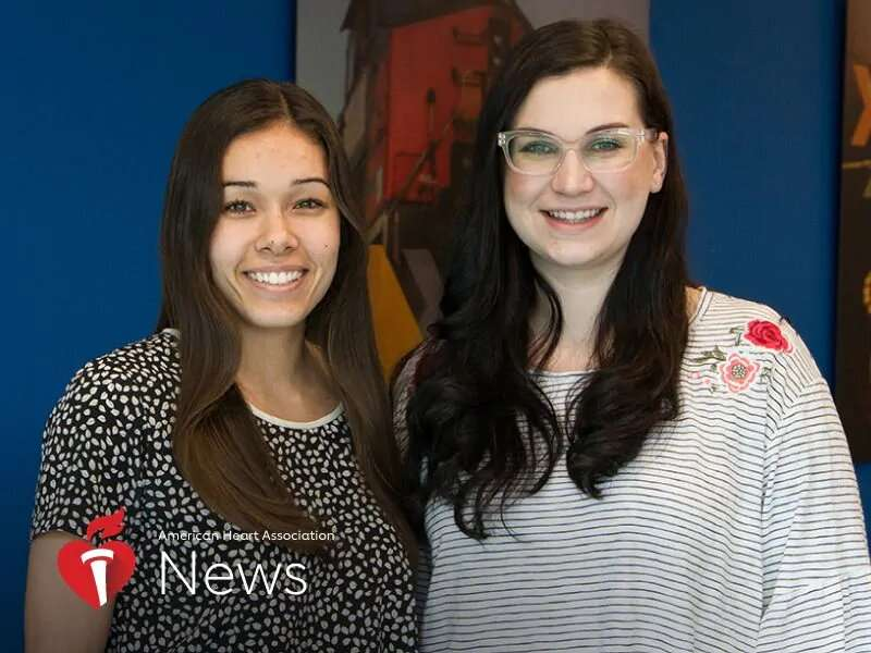 AHA news: she had a stroke at 21; so did her co-worker