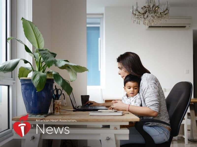 AHA news: torn between work and family? it may not be good for heart health