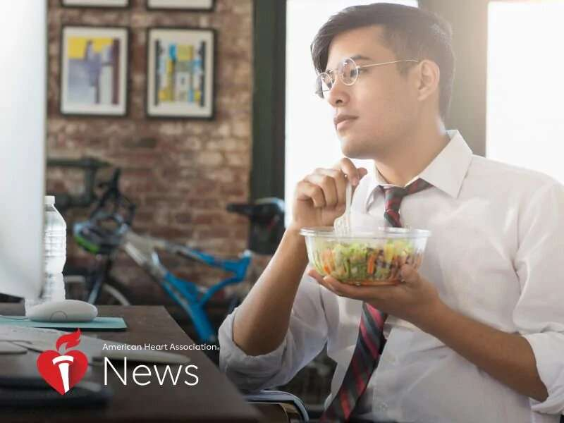 AHA news: your eating-on-the-job problems, solved