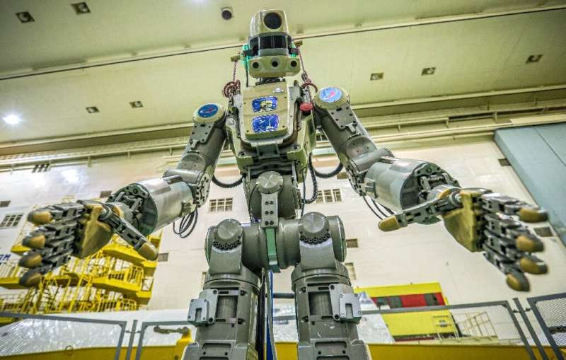 A humanoid robot named Fedor is the first Russia has sent into space