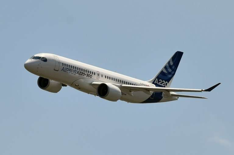 Airbus also landed record deliveries, but fewer than its arch rival Boeing