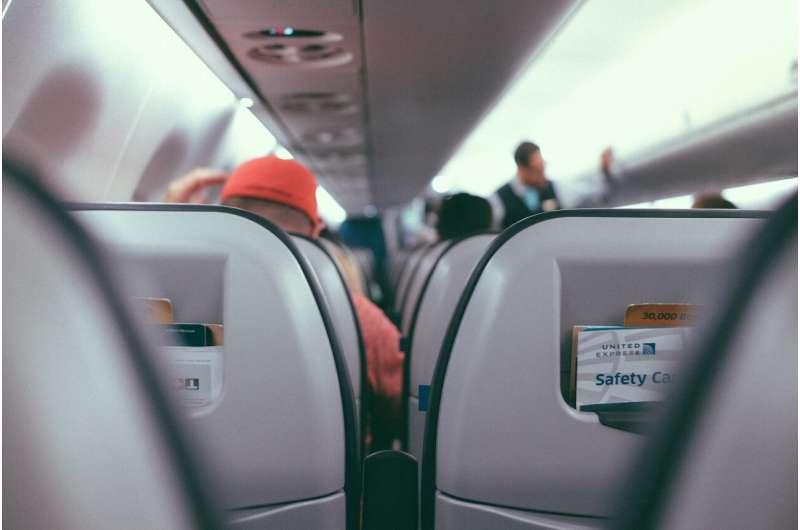 airplane inside