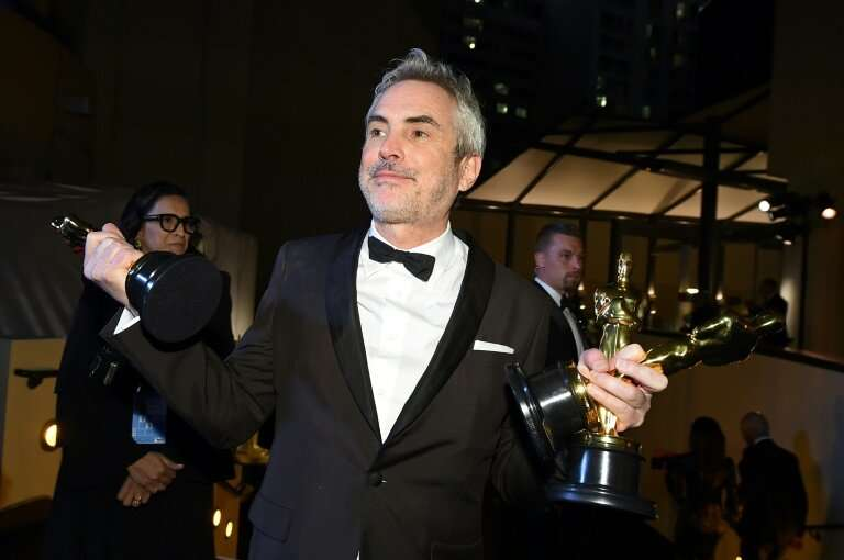 """Alfonso Cuaron received three Oscars in 2019 for """"Roma,"""" a Netflix movie"""