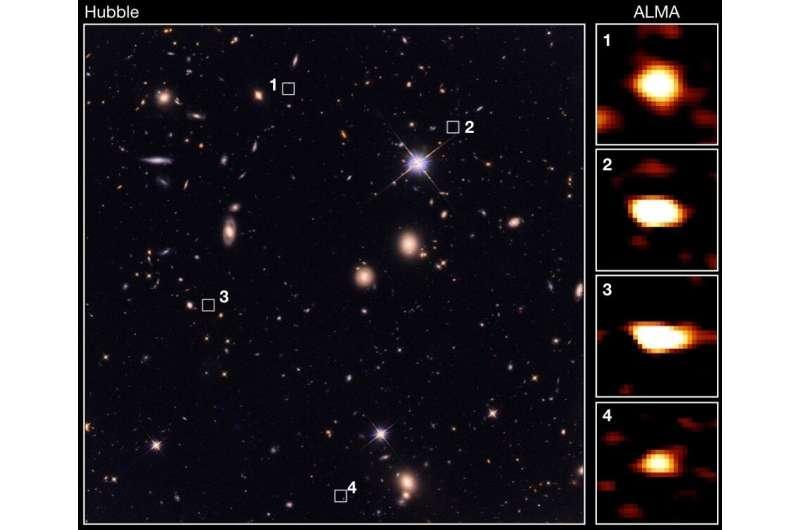 A long time ago, galaxies far, far away