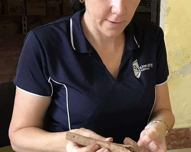 Alyson Wilson started her research project after a trip to Mexico to help classify Mayan-era skeletal remains